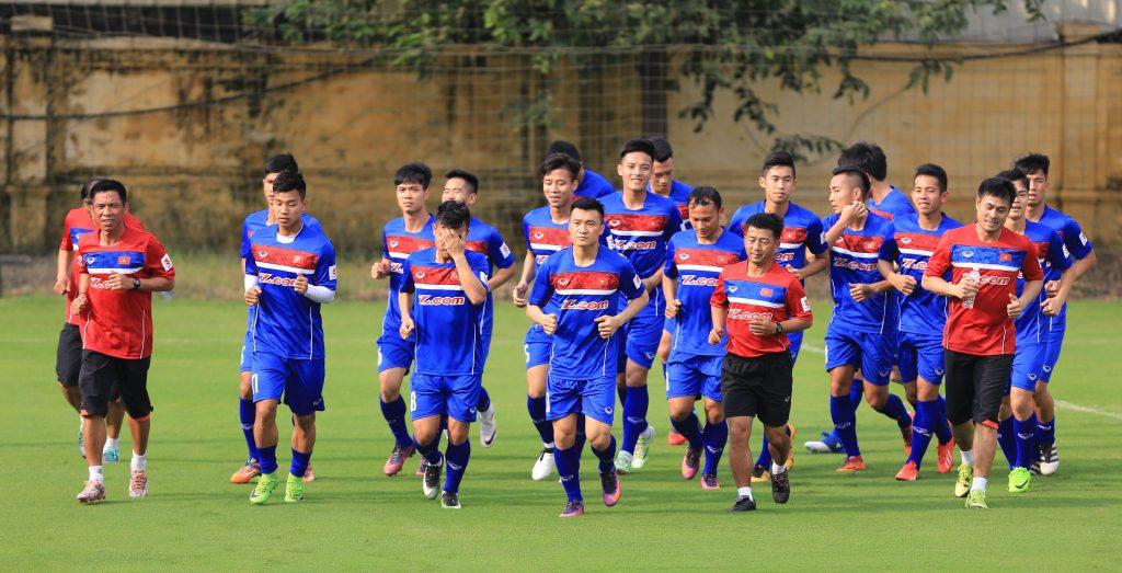 Tuyển Việt Nam chuẩn bị cho vòng loại Asian Cup 2019