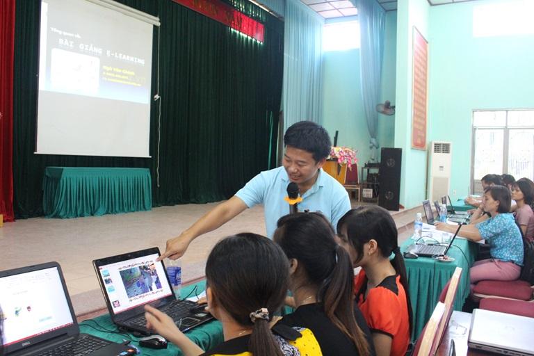 Quản lý giáo dục điện tử giúp phát huy thế mạnh của công nghệ hiện đại