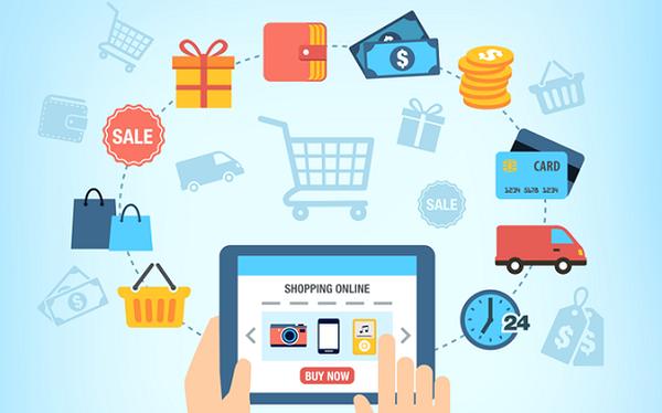 Thương mại điện tử giúp phát triển dòng thông tin của nền kinh tế