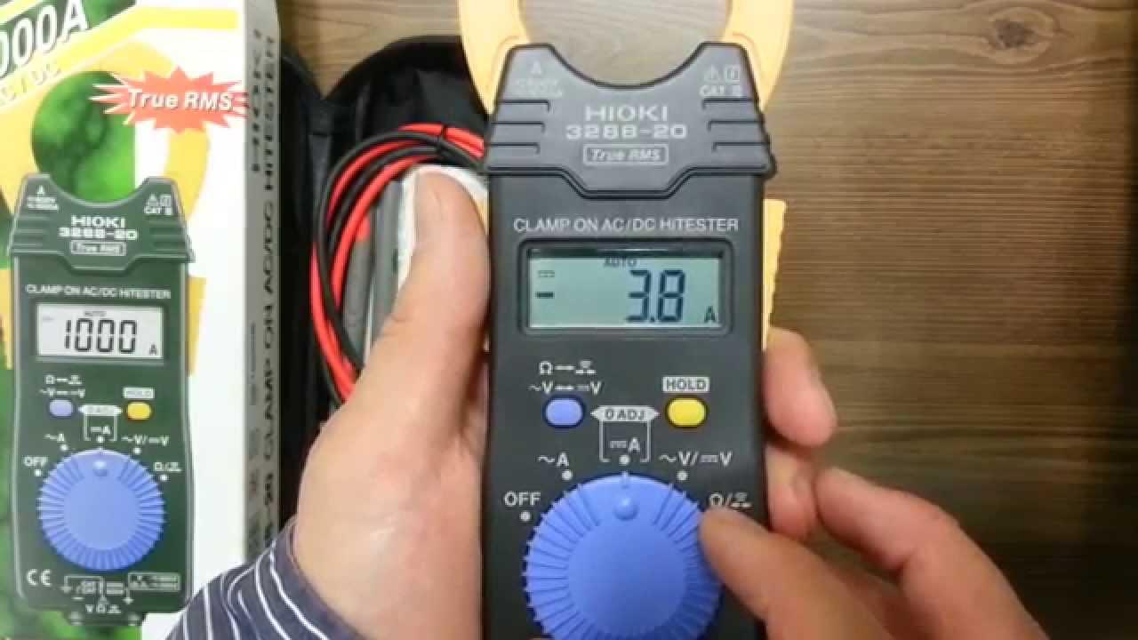 Đo dòng điện 1 chiều bằng ampe kìm