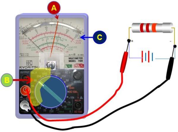 Đo dòng điện xoay chiều bằng đồng hồ vạn năng